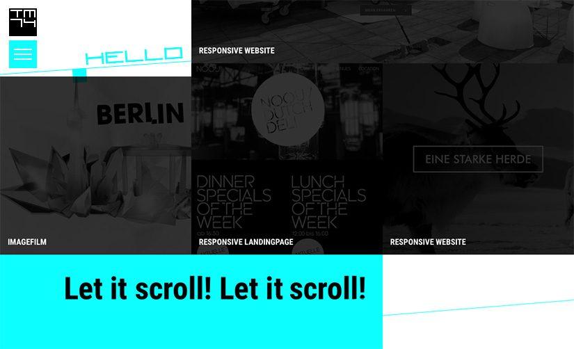 Relaunch www.tm74.de – schon wieder